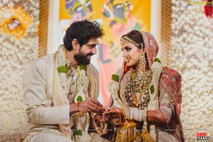 Rana Daggubati And Miheeka Bajaj's Wedding Pics