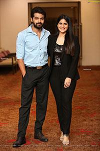 Adith Arun-Megha Akash Stills at Dear Megha PreRelease Event