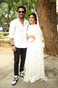 Varun Sandesh-Farnaz Shetty Stills at Induvadana Event