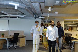 Inauguration pooja of aha's new office