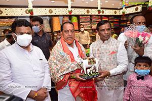 Anupama Parameshwaran Launches Kisan Fashion Mall at Nirmal