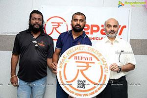 Repayr 4 Weeler Service Launch at Balanagar, Hyderabad