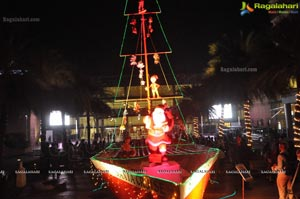 Christmas Decoration Novotel Hyderabad