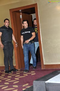 Salman Khan in Hyderabad