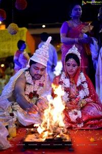 Brahmaji Son Sanjay Wedding