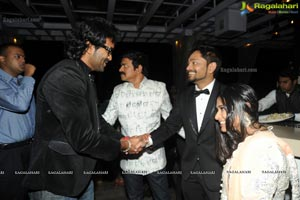 Brahmaji Son Wedding Reception