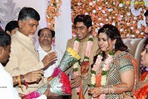Lakshmi Priyanka-Shravan Kumar Reddy Engagement
