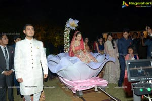 Ashish Ravisha Wedding Reception