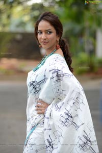 Lakshmi Manchu in Saree
