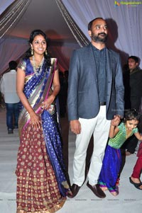 Priyanka Dutt Wedding Reception