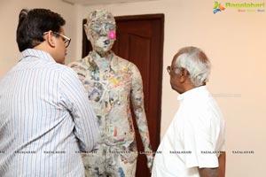 Manohar Chiluveru Art Exhibition