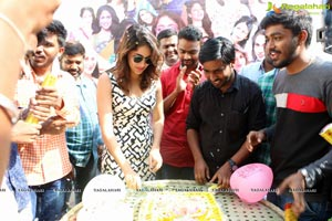 Lavanya Tripathi Birthday with fans