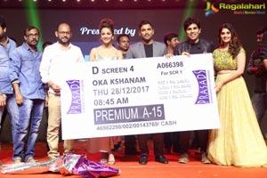 Okka Kshanam Pre-Release Event