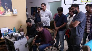 Sudheer Babu-Aditi Rao Hydari Sammohanam Working