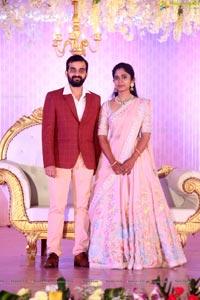 Di Raju's Nephew Harshit Reddy's Wedding Reception