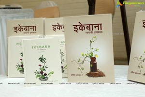 Press Meet about Books on Ikebana by Sharmila Agarwal
