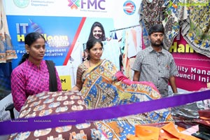 IT Handloom Mela Begins at Ameerpet Metro Railway Station