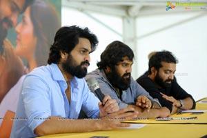 Aswathama Press Meet at Vizag