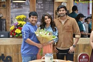 Nabha Natesh Birthday Celebrations at BSS8 Movie Sets