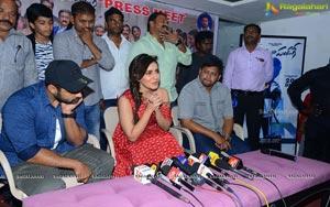Prathi Roju Pandage Movie Team at Vijayawada
