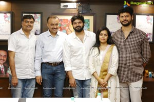 Sree Vishnu-Hasith Goli-People Media Factory Film Muhurat