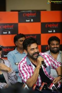 Venky Mama Press Meet At Vijayawada Capital Cinemas