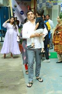 Dil Raju Celebrates His Birthday At Ashray Akruti
