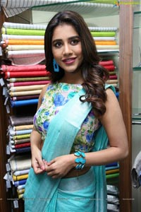 Nabha Natesh Inaugurated Linen House