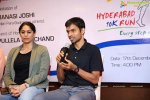 The Hyderabad 10K Run Foundation Felicitates Manasi Joshi