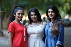 Mubaraka, Ritu and Sharon Posing Together