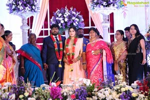 Praveen Kumar Yadav & Mhitha Shree Wedding Reception