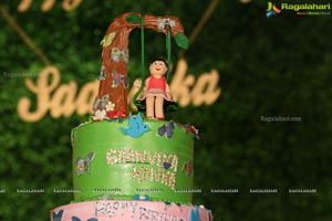 Saanvika Konka's First Birthday Celebration