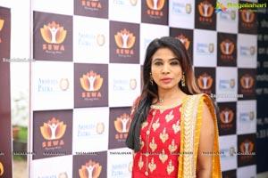 Akshaya Patra Holds Charity Lunch for SEWA
