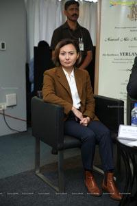 Yerlan Alimbayev Media Interaction