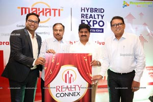 Mahati Unveils Logo of Realty Connex A Hybrid Realty Expo