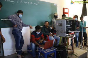 Samidha Movie Working Stills