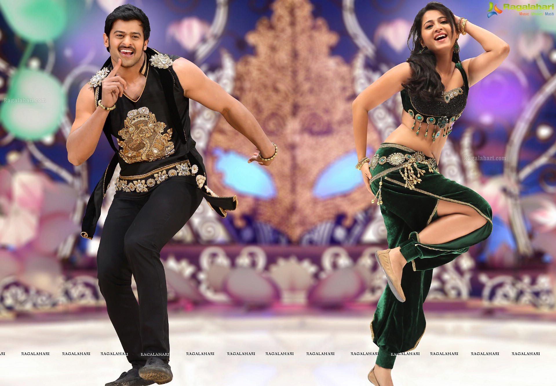 Prabhas-Anushka-Richa starrer Mirchi success meet