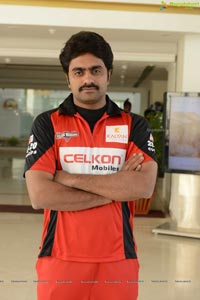 CCL 2013 Telugu Warriors Team Photos