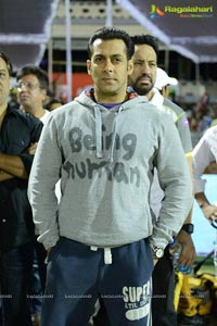 CCL 3 Salman Khan with Venkatesh