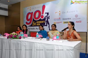 Go 5K Womens Run Press Meet