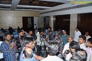 JCI Hyderabad Deccan Grand Tambola Press Meet