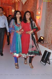 Kanika Ankush Wedding Reception