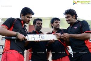 2013 CCL Telugu Warriors Practice Match at JSCA Stadium, Ranchi