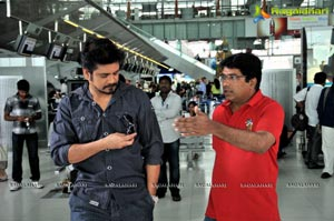 Greekuveerudu Working Stills