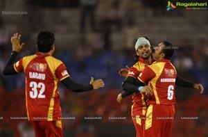 CCL 4 Telugu Warriors Bhojpuri Dabanggs