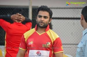 CCL4 Telugu Warriors Practice Match