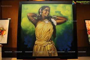 50th Solo Art Exhibition of Hari Srinivas at Taj Krishna