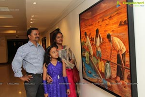 'Reflections & Memories'- A Paintng Exhbtion by Artist P.Rajasekhar