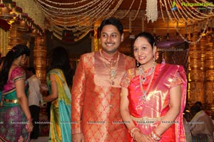 Sushanth, Tejaswini Wedding at JRC