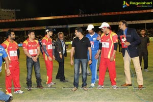 CCL4: Telugu Warriors Vs Karnataka Bulldozers